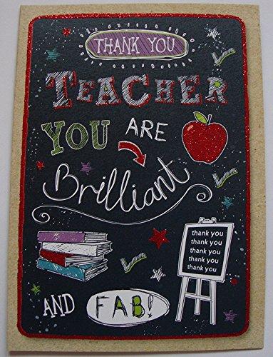 mediana Hallmark/ /Tarjeta de agradecimiento para profesorYoure Great