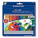 Staedtler 144 50NC24 - Noris Club radierbarer Farbstift