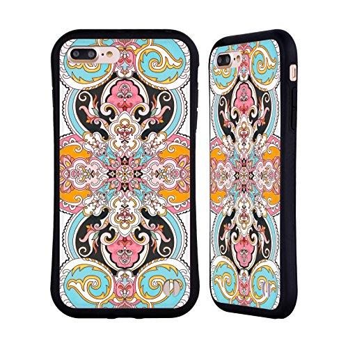 Ufficiale Giulio Rossi Henne Collezione Deco Case Ibrida per Apple iPhone 5 / 5s / SE Arabesco