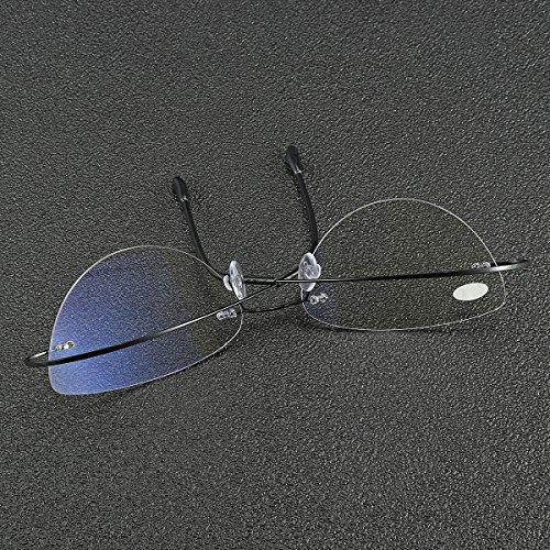 Bluelover Braodison Presbyopisch Lesebrille Flexible Titanrahmen Hd Beschichtete Harz Linse - 1,5 - - Hd-linsen