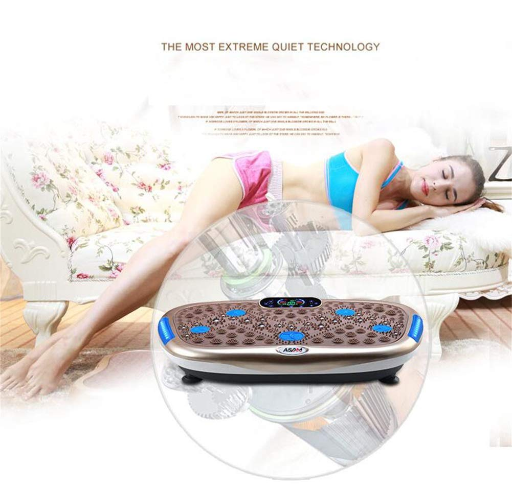 61MSbuP0C5L - Rocket Vibration Machine,Fitness Exercise Equipment To Lose Weight Tone Muscles