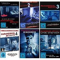 Paranormal Activity - 6 DVD Set (Teil 1-4 + die Gezeichneten + Ghost Dimension) - Deutsche Originalware