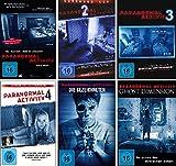 Paranormal Activity - 6 DVD Set (Teil 1-4 + die Gezeichneten + Ghost Dimension) - Deutsche Originalware [6 DVDs]