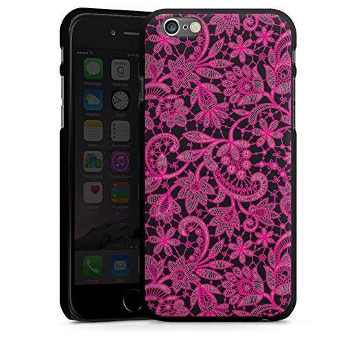 Apple iPhone 5 Housse étui coque protection Ornements Motif Motif CasDur noir