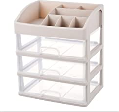 VelVeeta Decorative ABS Plastic Jewelry Storage Organizer (Cream)