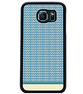 PrintDhaba Pattern D-1986 Back Case Cover for SAMSUNG GALAXY S6 EDGE (Multi-Coloured)