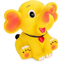 JOY STORIES® Joy Stories Appu Elephant Style Money Saving Bank, Coin Holder Box, Piggy Bank for Kids - Yellow