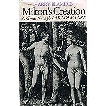 "Milton's Creation: Guide Through ""Paradise Lost"""