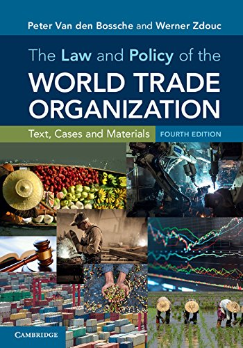 The Law and Policy of the World Trade Organization: Text, Cases and Materials (English Edition)