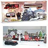 Zug König, Intelligente Simulation-Klassische Spielzeug Zug Set pefect Geschenk für Weihnachten, Remote arbeiten mit vielen fuction