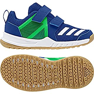 adidas Unisex-Kinder Fortagym Cf K Fitnessschuhe, Blau (Reauni/Ftwbla/Limsho 000), 35.5 EU