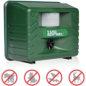 Yard Sentinel - Electronic Pest & Animal Control Repeller with Motion Sensor (UK Plug)