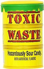 Candy Dynamics Toxic Waste Hazardously Sour Candy Bottle, 42g