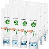 Brabantia Afvalzakken / vuilniszakken / vuilniszakken, codering G, 30 l, 12 rollen á 20 zakken, samen 240 zakken