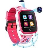 Smartwatch per Bambini con 2 Fotocamere - SOS Two Way Call Lettore Musicale HD 7 Giochi Puzzle 1.54 Touchscreen Smart Watch p