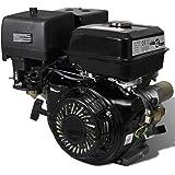 vidaXL Benzinemotor met Elektrische Start 15 pk 11 kW Benzine Motor Aandrijfmotor Aandrijving Motors Motoren Benzinemotoren B