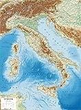 Italia 1:1.6.000.000 (carta in rilievo senza montatura cm 67,0x89,6)