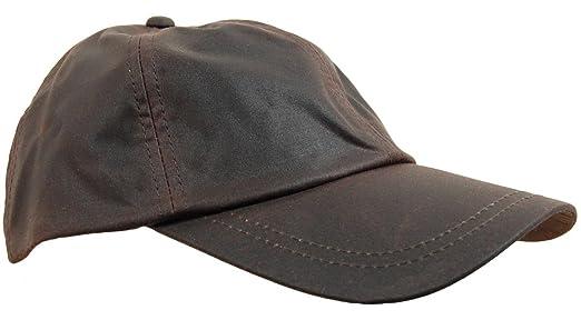 barbour wax baseball hat deluxe waxed cotton cap waterproof