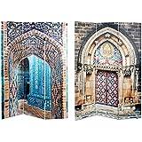 Biombo de fotoimpresión con lienzo de Puertas preciosas