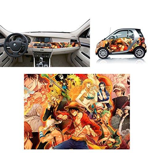 Preisvergleich Produktbild Klebefolie Glanz–One Piece 12–70x 50cm Wrapping termoformabile
