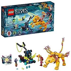 LEGO- Elves Azari la Cattura del Leone di Fuoco, Multicolore, 41192 LEGO elves LEGO