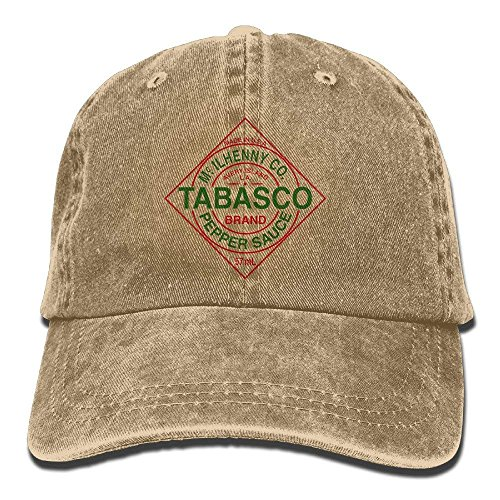 Preisvergleich Produktbild Walnut Cake Tabasco Logo Adult Cowboy Hat