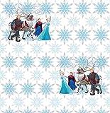 AG Design WPD 9732 Disney Frozen, Vlies-Tapete, 1 Rolle, Mehrfarbig, 0,1 x 53 x 10,05 cm