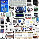 Adeept Ultimate Starter Kit for Arduino UNO R3, LCD1602, Servo Motor, Relay, Processing and C Code,...