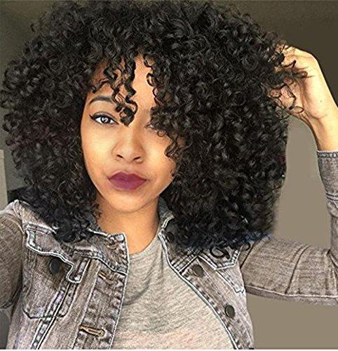 Afro-Perücke billige Kunsthaar Lang Kinky Curly Perücken für schwarz Frauen African American weiblich Perücke hitzebeständig Faser Perücke