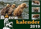 Bärenkalender (Wandkalender 2019 DIN A3 quer): Braunbären - 36 faszinierende Fotos in einem Kalender (Monatskalender, 14 Seiten ) (CALVENDO Tiere) - Max Steinwald