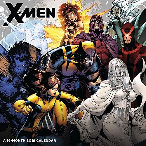 X-Men Wall Calendar (2019)