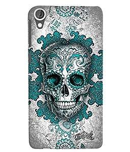 Citydreamz Skull/Skeleton/Horror/Dark/Fear/Scary/Ghost/Monster Hard Polycarbonate Designer Back Case Cover For HTC Desire 828