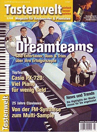 Tastenwelt - Soloentertainer, Duos & Trios Erfolgsrezepte / Casio PX-720 / Clavinova