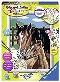 Ravensburger Malen nach Zahlen 28326 - Pferd mit Fohlen, Malset