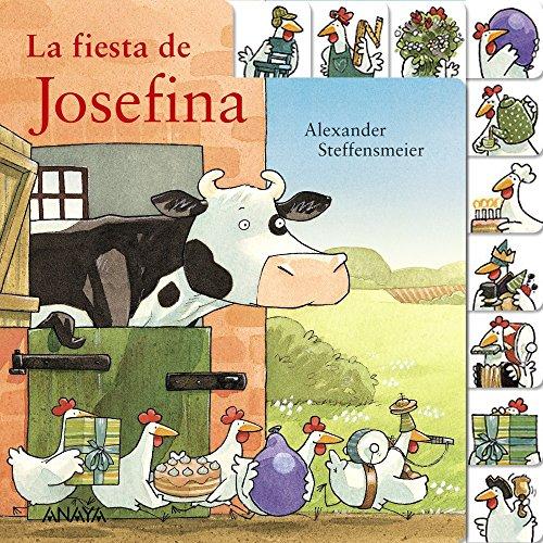 Portada del libro La fiesta de Josefina (Primeros Lectores (1-5 Años) - Josefina)
