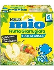 Nestlé Mio Frutta Grattugiata Frutta Mista da 6 Mesi, senza Glutine - 400 gr
