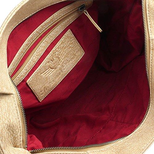 Fritzi aus Preußen Maggi Kuba Schultertasche 50 cm hemp1