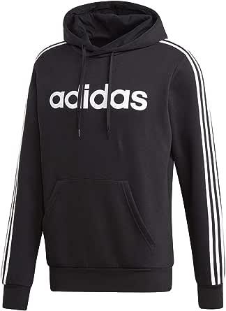 adidas Men's Essentials 3-stripes Hooded Sweatshirt