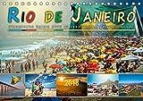 Rio de Janeiro, Olympische Spiele 2016 im brasilianischen Hexenkessel (Tischkalender 2018 DIN A5 quer): Eine Reise in die Stadt der vielen Gesichter, ... Orte) [Kalender] [Apr 08, 2017] Roder, Peter