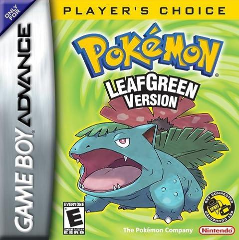 Pokémon Leaf Green (GBA) [import anglais]