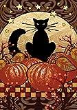 Home Garden Beste Deals - Toland Home Garden Mondschein-Katze, Orange