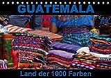 Guatemala - Land der 1000 Farben (Tischkalender 2018 DIN A5 quer): Guatemala - buntes Land in Zentralamerika, wo Farbe in allen Lebensbereichen ... Orte) [Kalender] [Apr 01, 2017] Flori0, k.A -