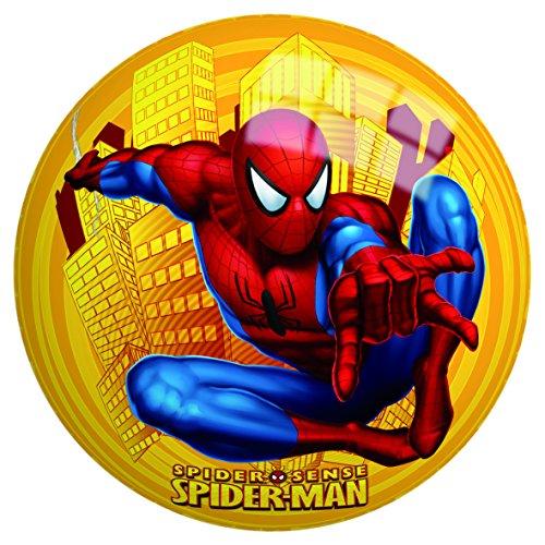 Globo Toys Globo-50307230mm Sommer Spiderman Ball mit Netz (Luftballons Ball, Beach)