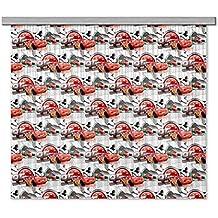 AG Diseño fcsxl 650938Disney Cars, habitación de los Niños/cortinas, 2piezas plástico, multicolor, 180x 160cm