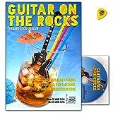 Guitar on the Rocks, pour guitare 1et 2-Livre De Jeu Avec Des Pièces De Blues légers, Rock et de Pop avec CD et Dunlop plek