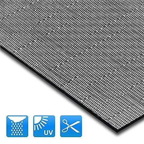 Tapis intérieur extérieur casa pura® résistant, antisalissure, impermeable et antidérapant | nombreux design/tailles | Siena -