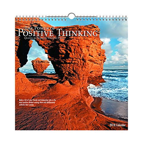 The Power of Positive Thinking 2018 Calendar