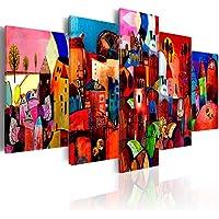 200x100 !!! Formato Grande + Impresion en calidad fotografica + 5 partes + cuadro 051447 + 200x100 cm +++ GRAN VARIEDAD DE CUADROS Y IMPRESOS ARTÍSTICOS EN NUESTRA TIENDA VIRTUAL +++