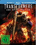 Transformers 4: Ära des Untergangs / Age of Extinction - Steelbook (Uncut) [Limited Edition] [2 Blu-rays]