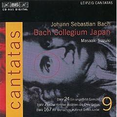 Bach, J.S.: Cantatas, Vol. 9 - Bwv 24, 76, 167